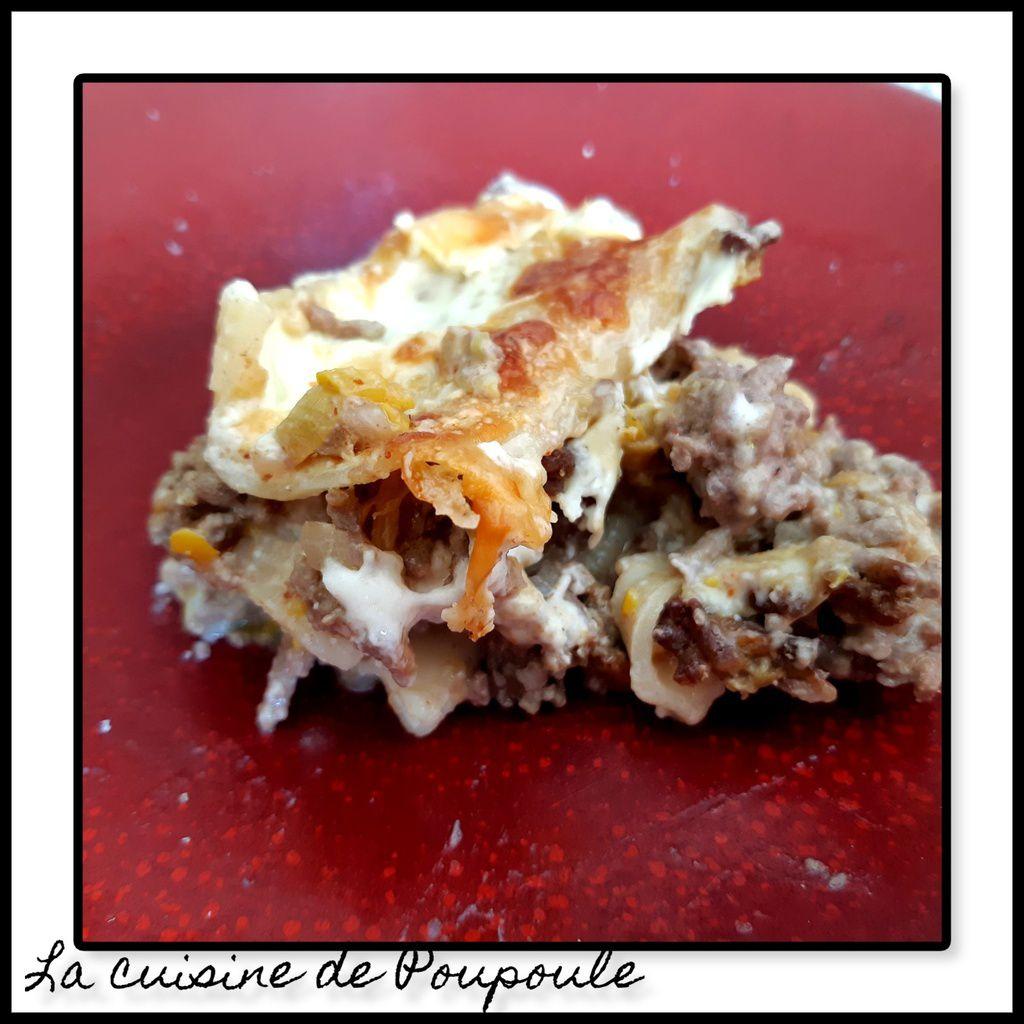 Lasagne courgette et fromage frais