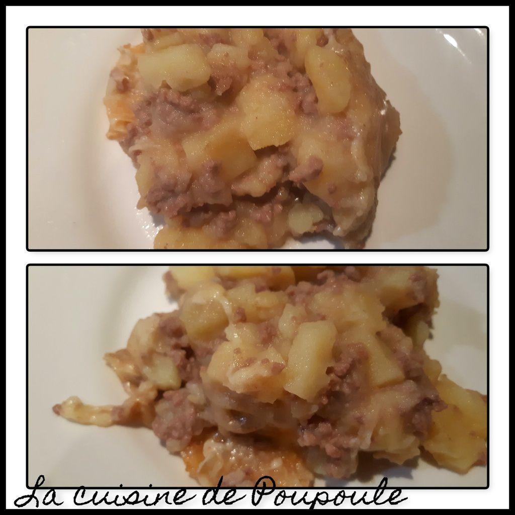 Pomme de terre au four à la viande hachée