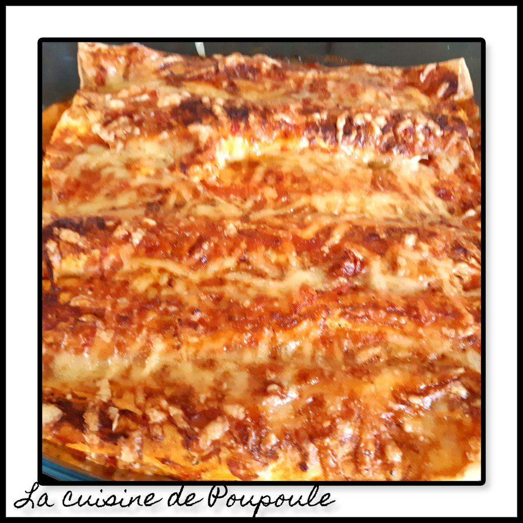 Wraps de dinde à la tomate en gratin