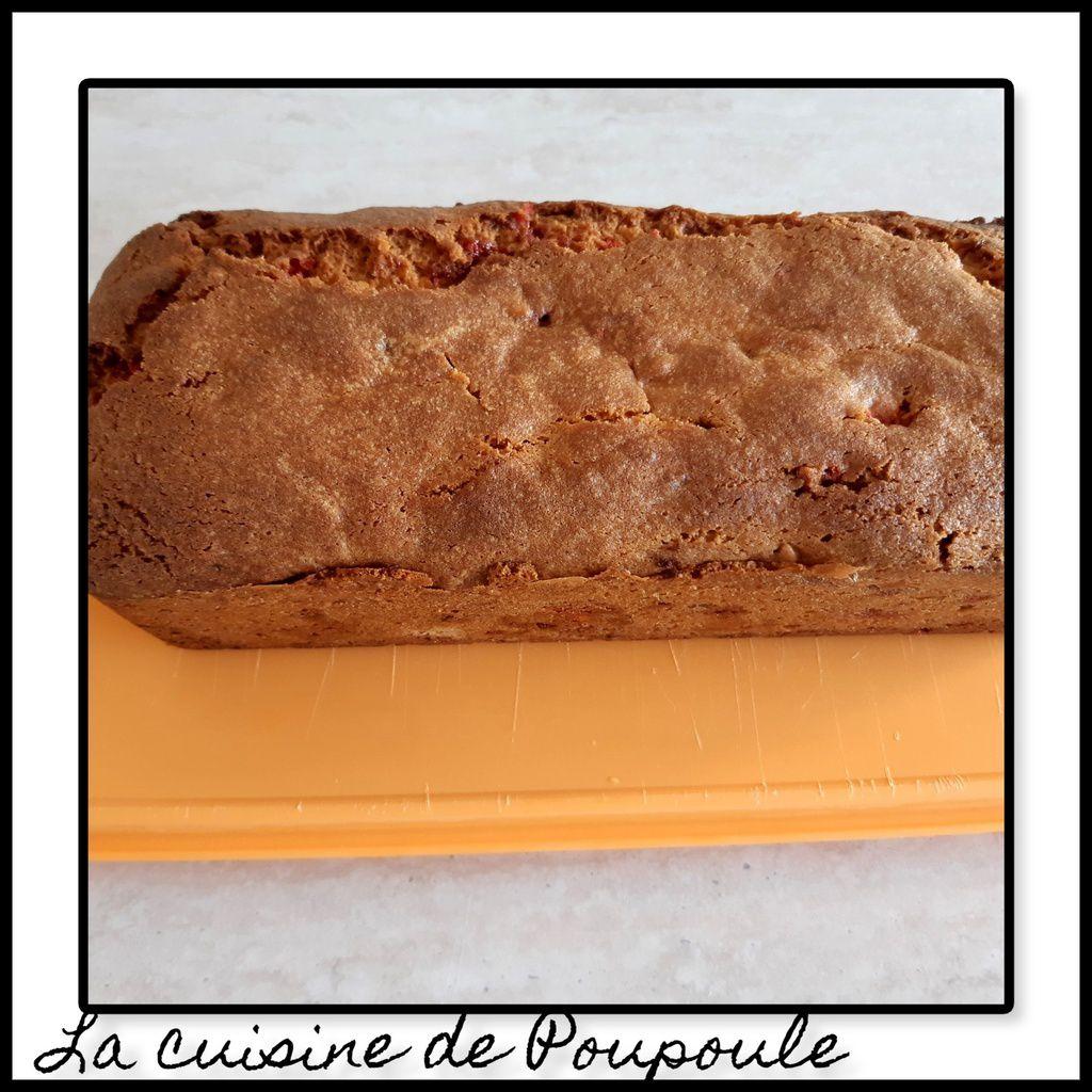 Cake aux pralines rose