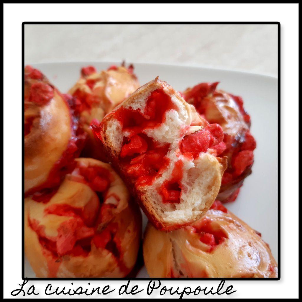 Escargots brioché aux praline rose