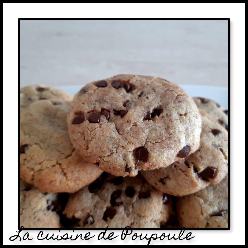Cookies aux noisettes et pépites de chocolat de Lolo