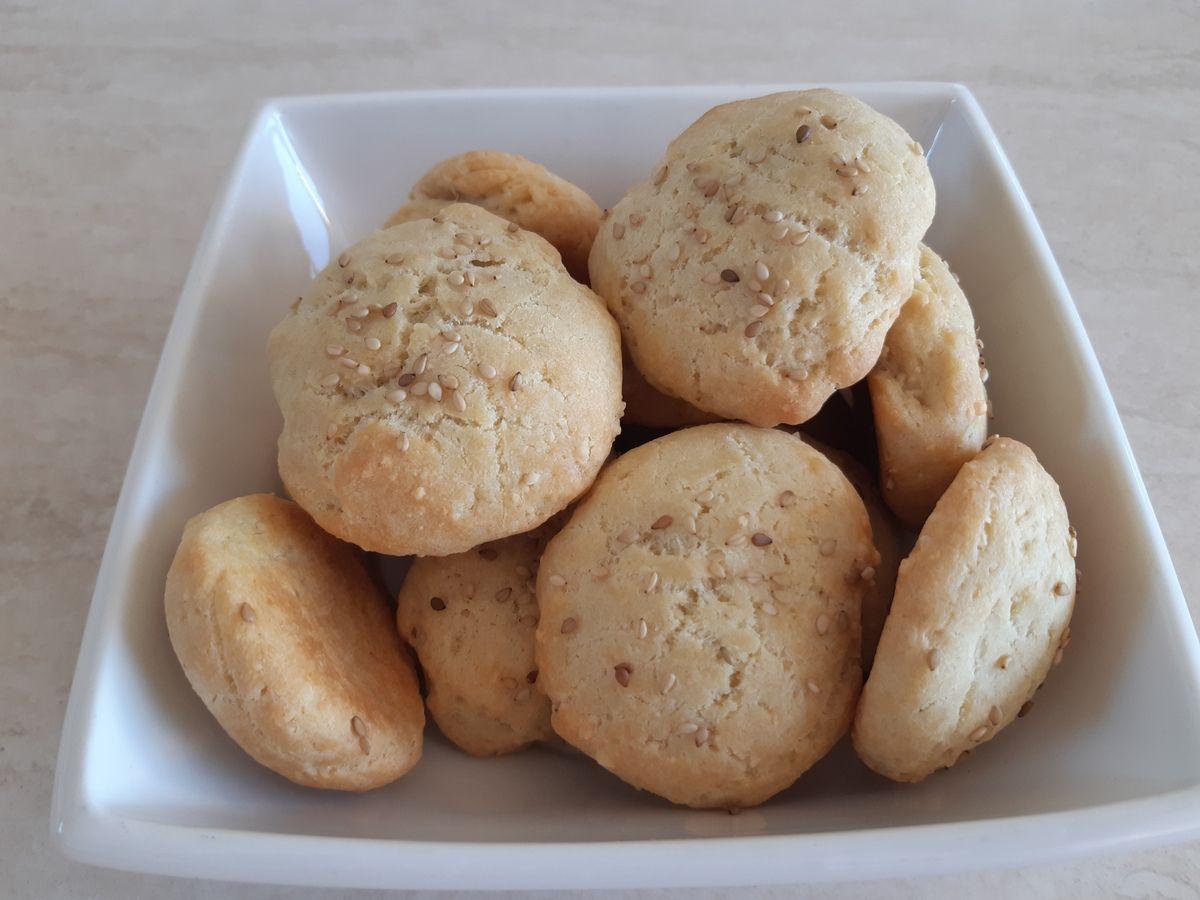 Cookies salé au roquefort et à l'emmental