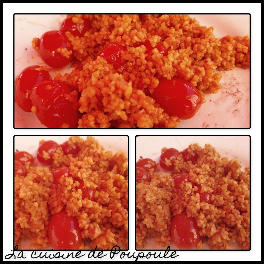 Boulgour à la tomates