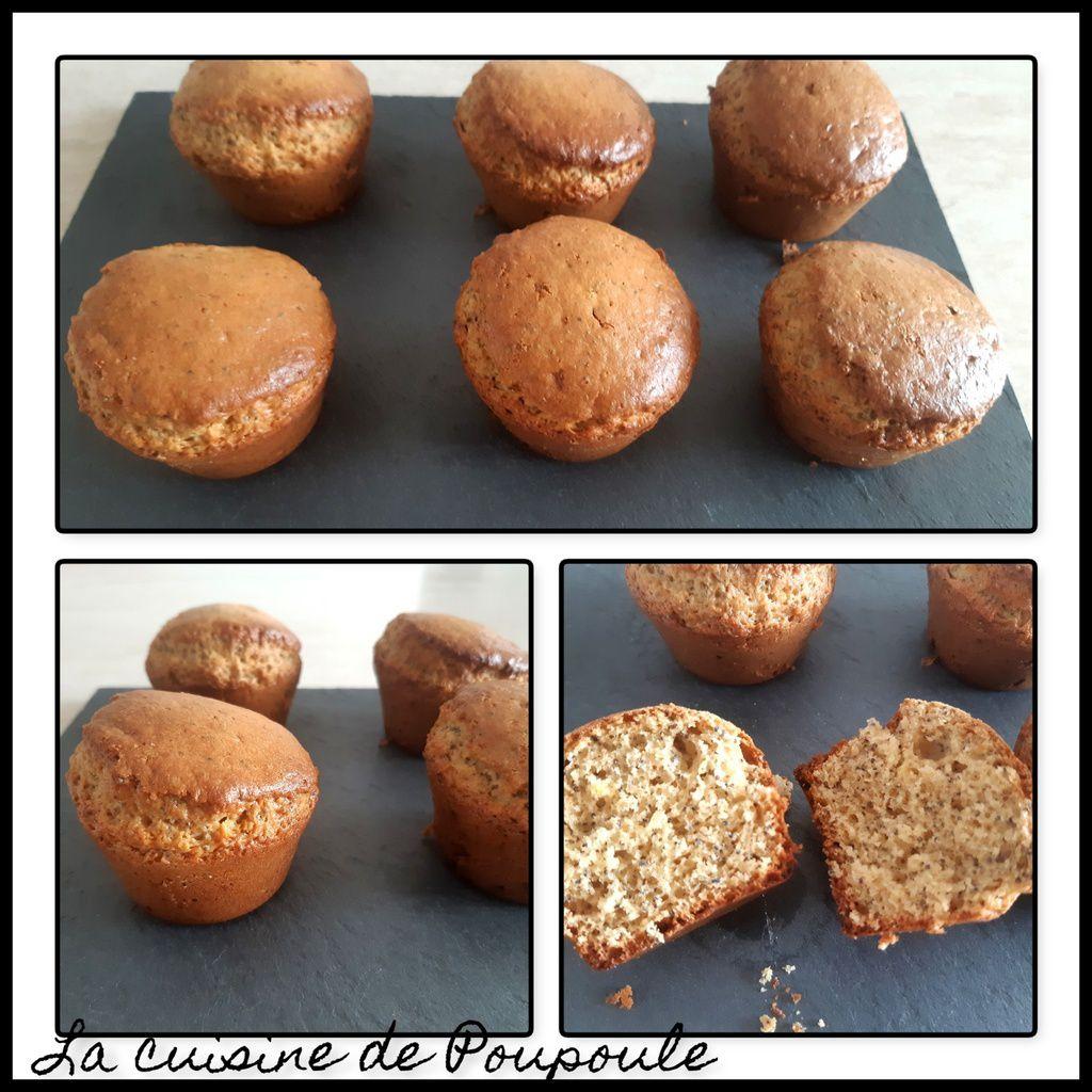 Muffin au citron et graines de pavot Heathly