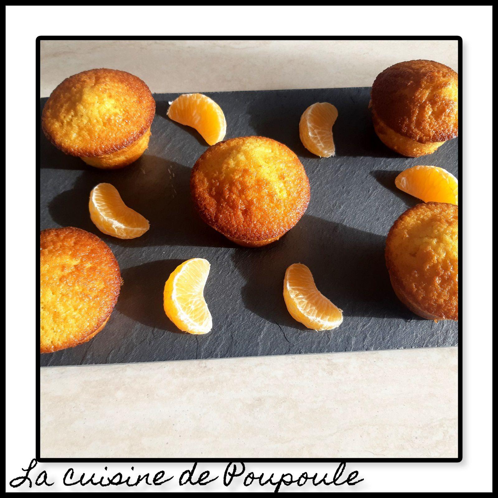 Muffins à la Mandarine