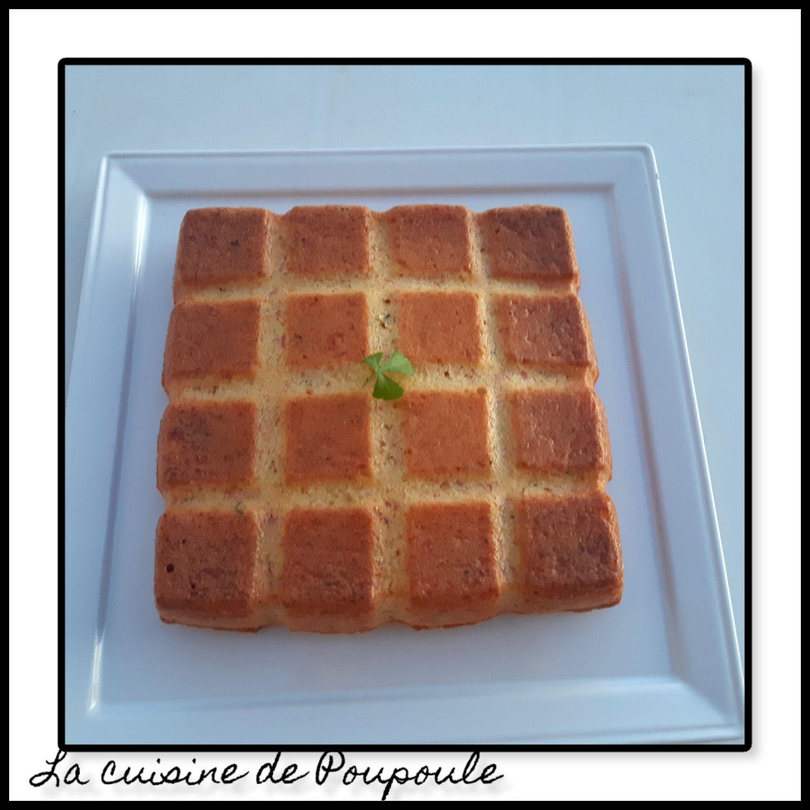 Gâteau au jambon