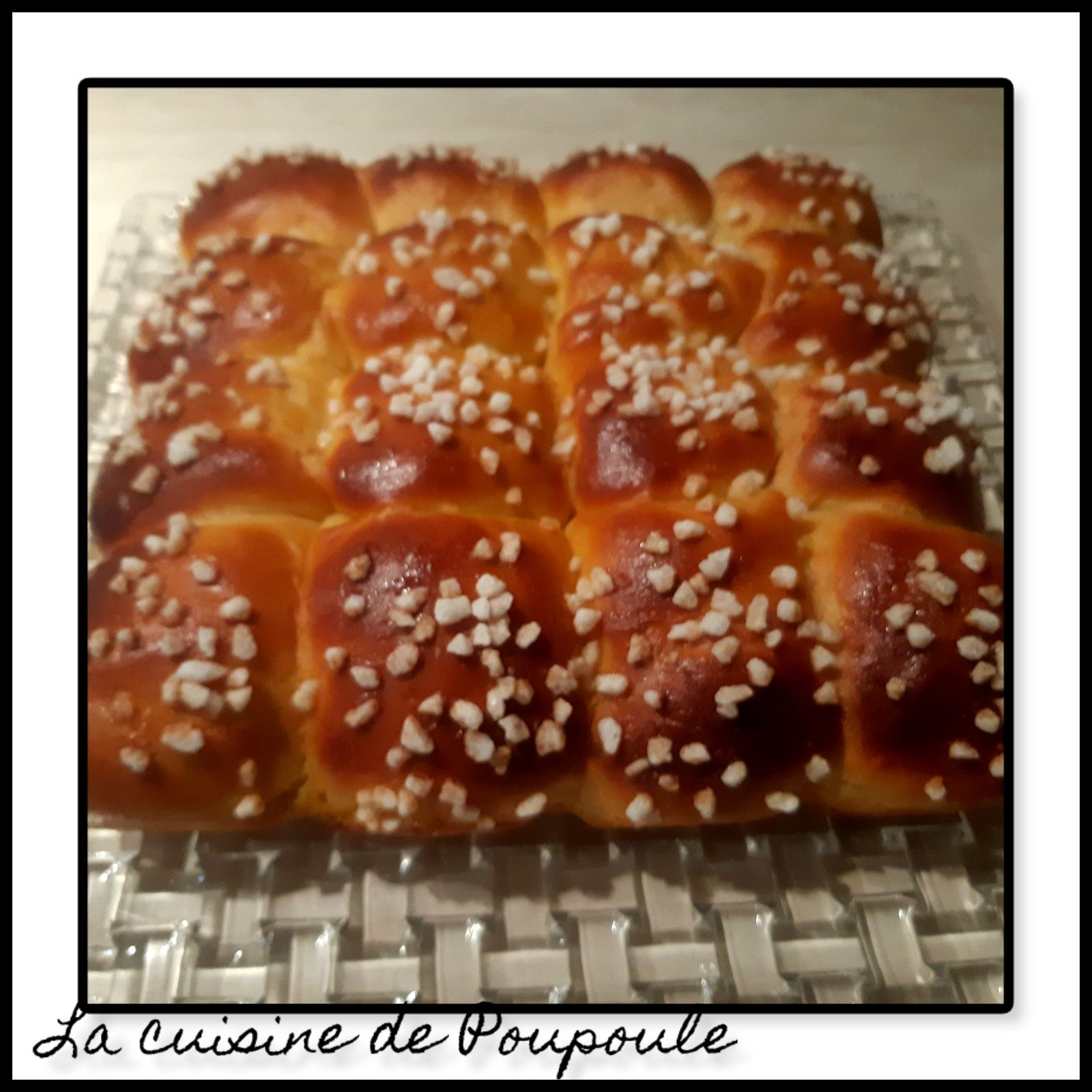 Brioche Ultra moelleuse au fromage Blanc
