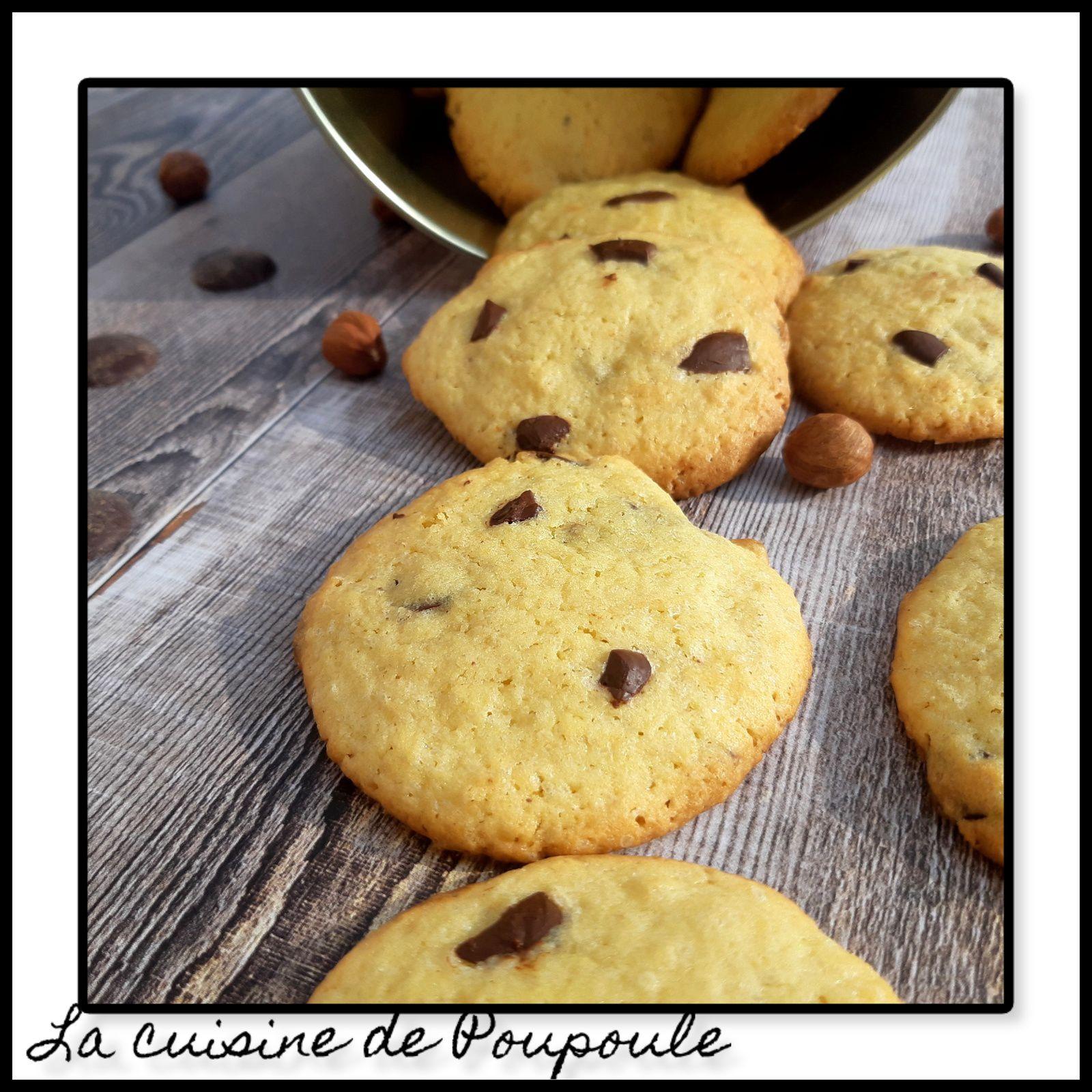 Cookies au chocolat de Christophe Michalak