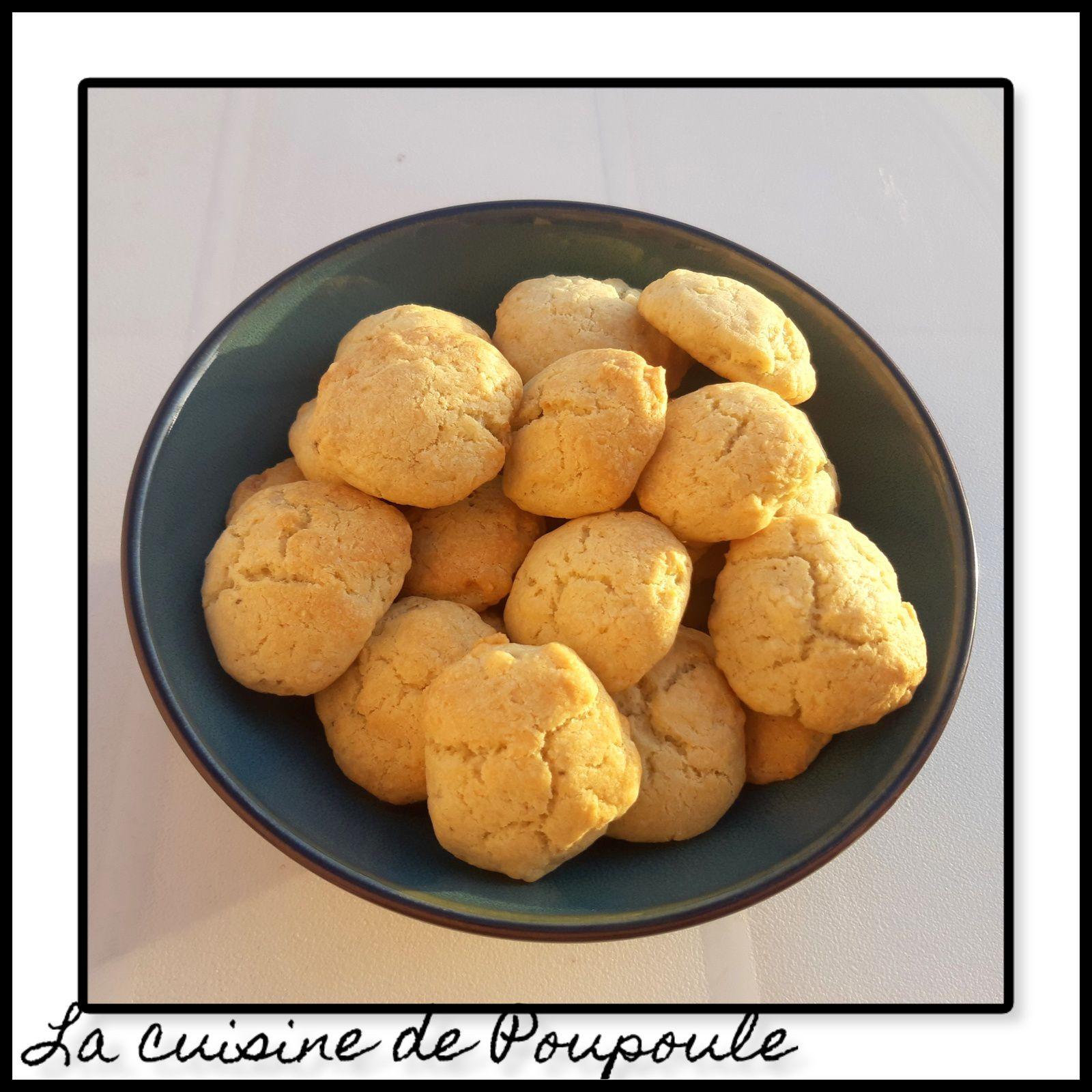 Cookies salés au roquefort et à l'emmental