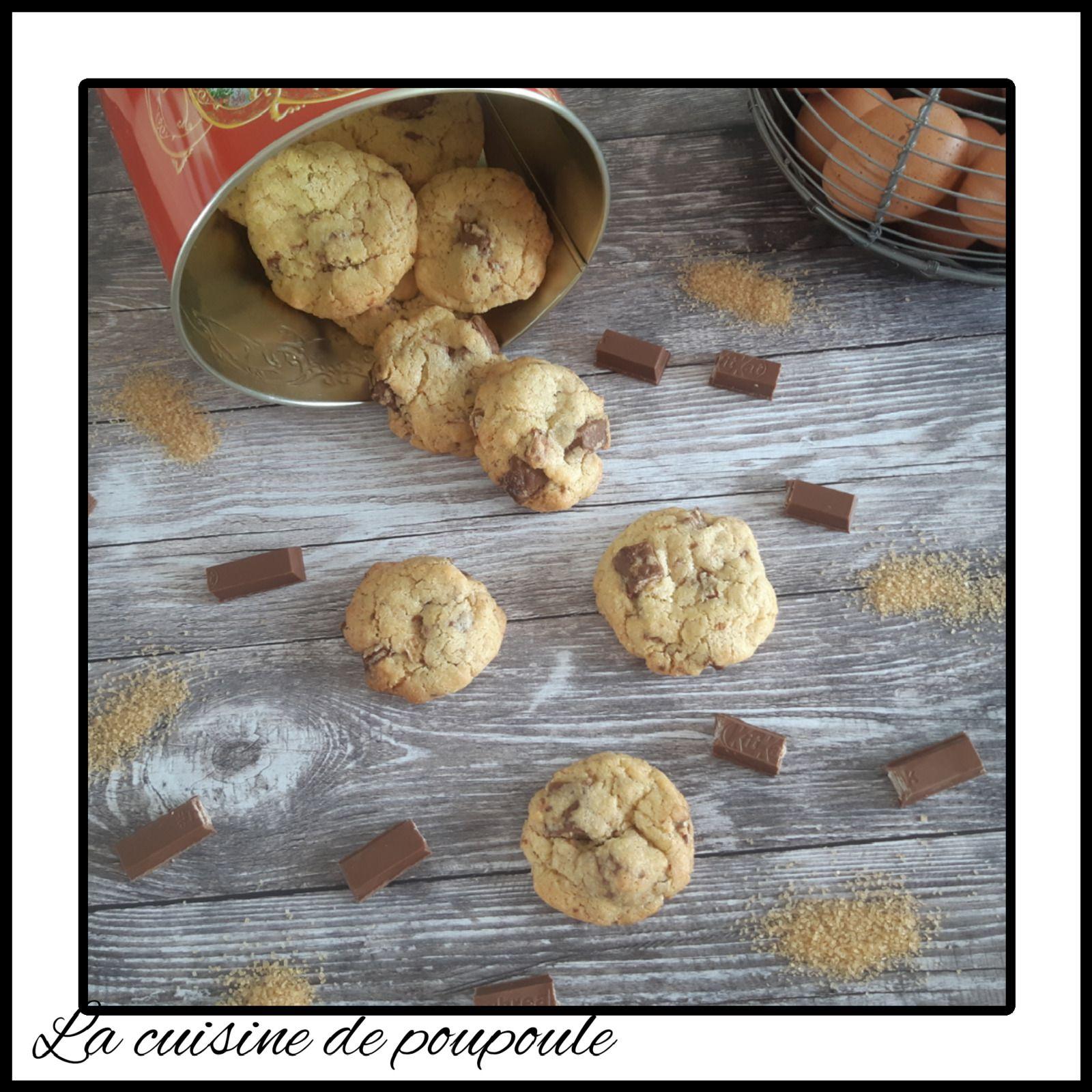 Cookies au KitKat