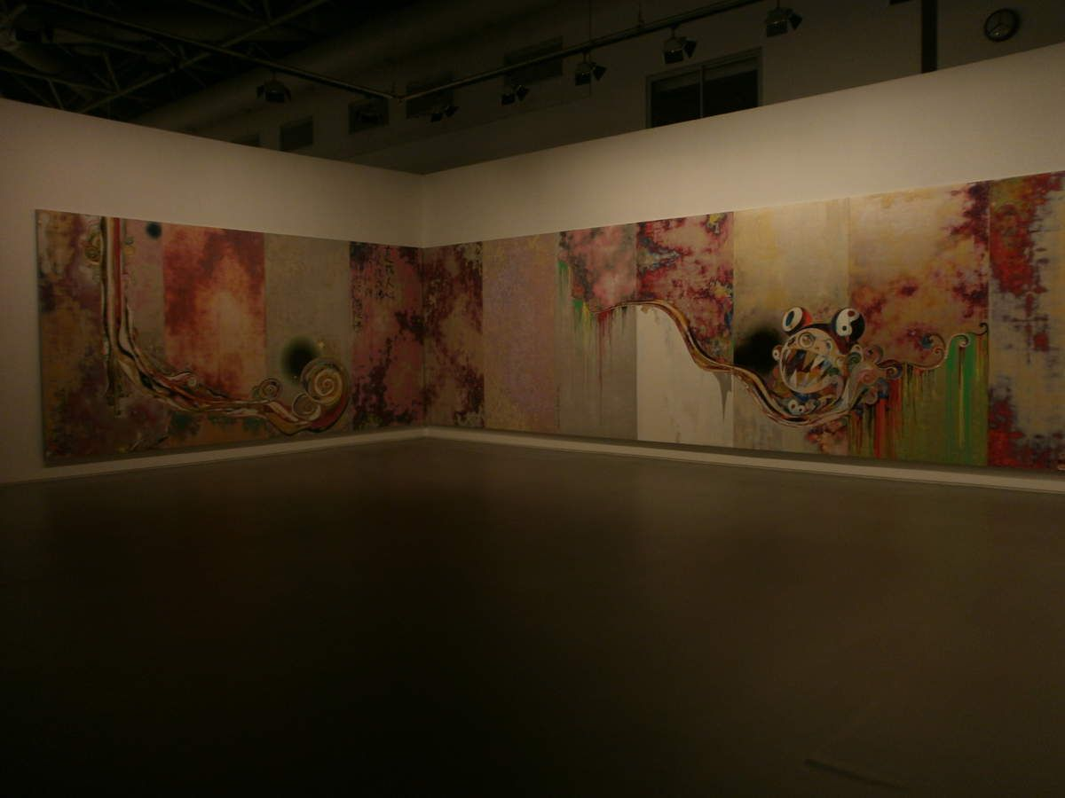 """Takeshi Murakami, """"The experience of god at the several of facts, 727-272"""", 2006-2009"""
