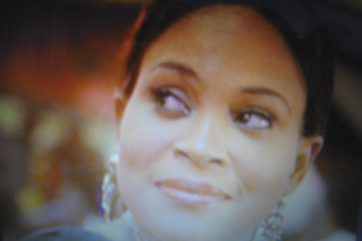 Bukky Wright durant the elections of 2014