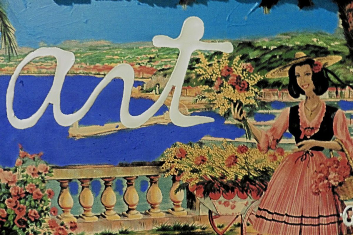 The Promenade des Anglais by the french artist Ben
