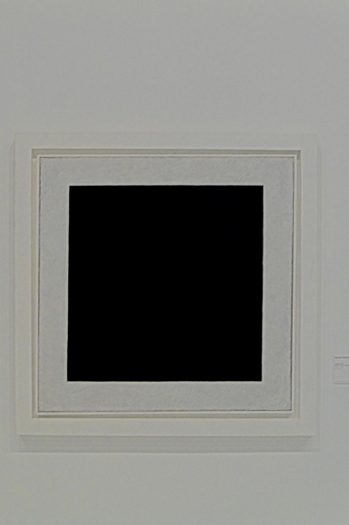 The iconic Malevich's Black Square (1915)
