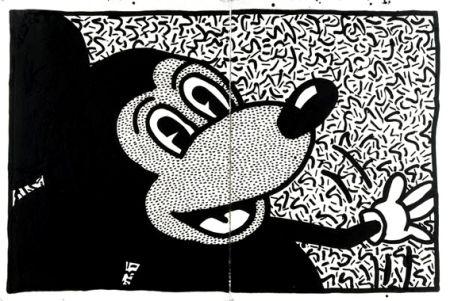 Mickey par Robert Combas.
