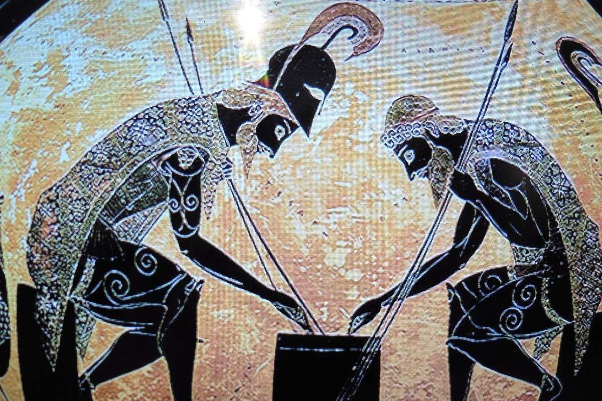 Rêves de Grèce, collection de vases grecs