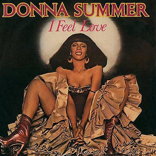 """L'album """"I feel love"""" de Donna Summer."""