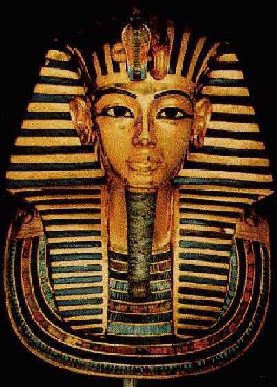 The golden treasures of the Pharaohs