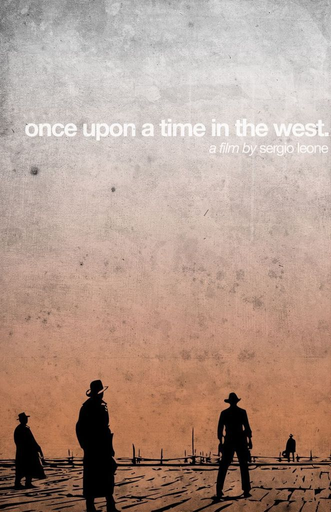 """""""Once upon a time in the West"""" directed by Sergio leone (1969) with Charles Bronson and Henry Fonda."""