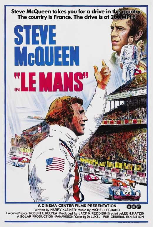 "The poster of ""Le Mans"""