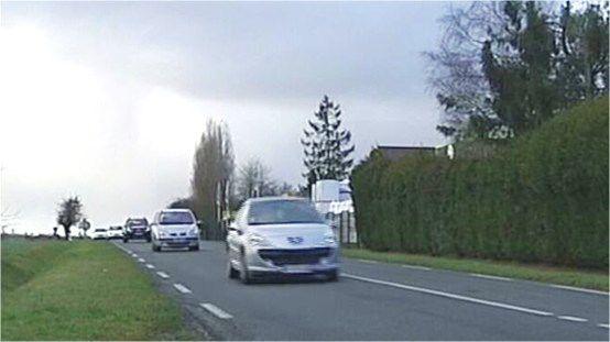 Saint-Lambert-des-Bois, nuisances du trafic de la RD91 pour le hameau de La Brosse.