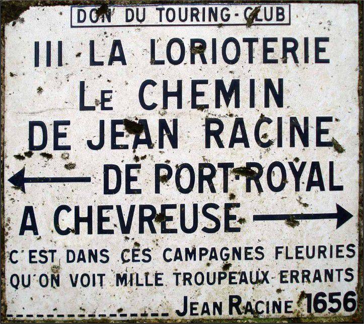 """Borne III - La Lorioterie : """"C'est dans ces campagnes fleuries qu'on voit mille troupeaux errants."""""""