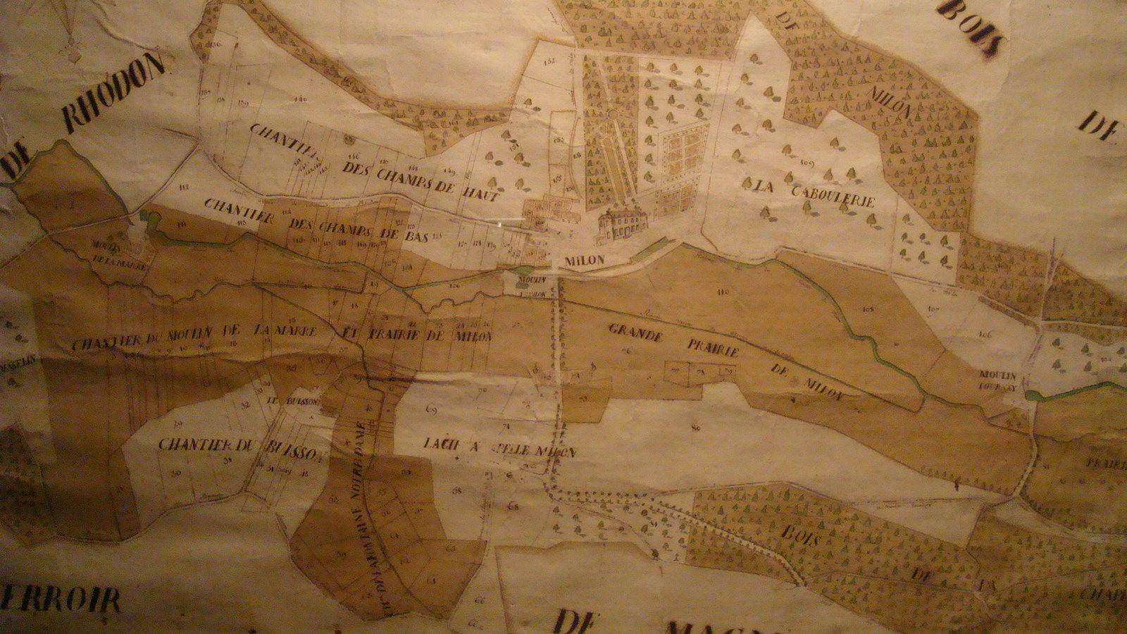 Levé topographique XVIII siècle