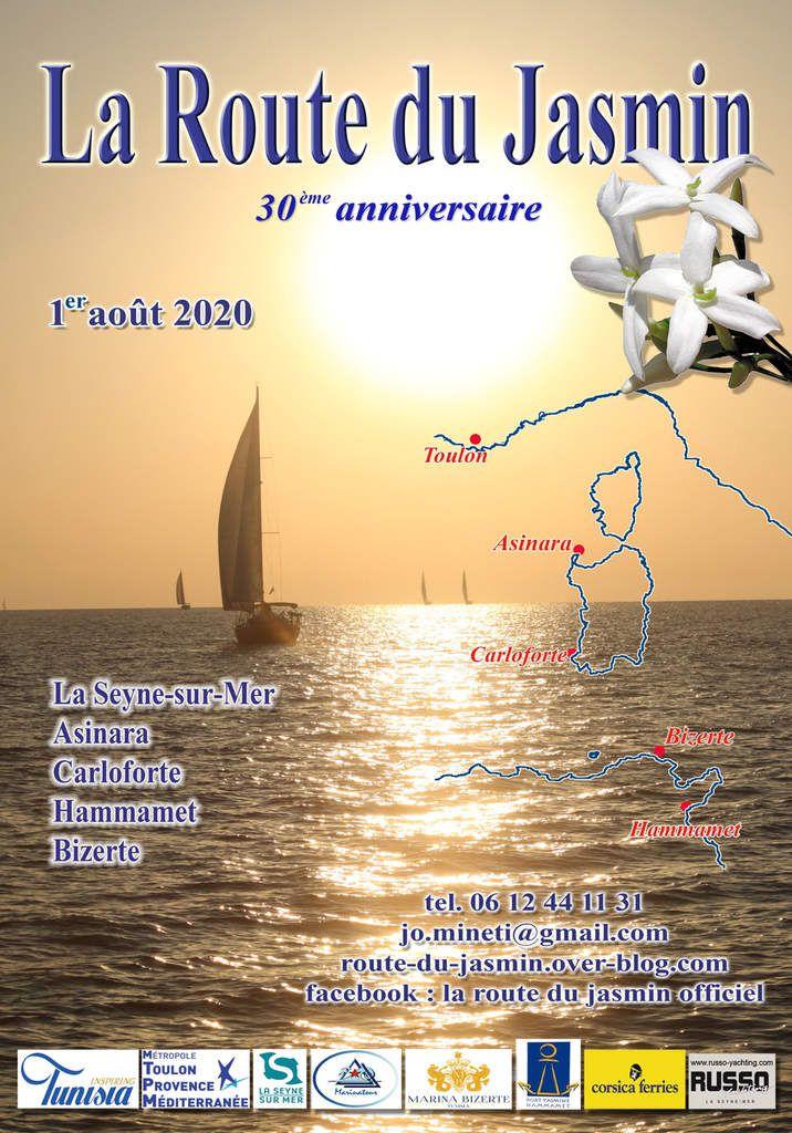 LE PROGRAMME DE LA ROUTE DU JASMIN 2020 EST ENFIN PRÊT !