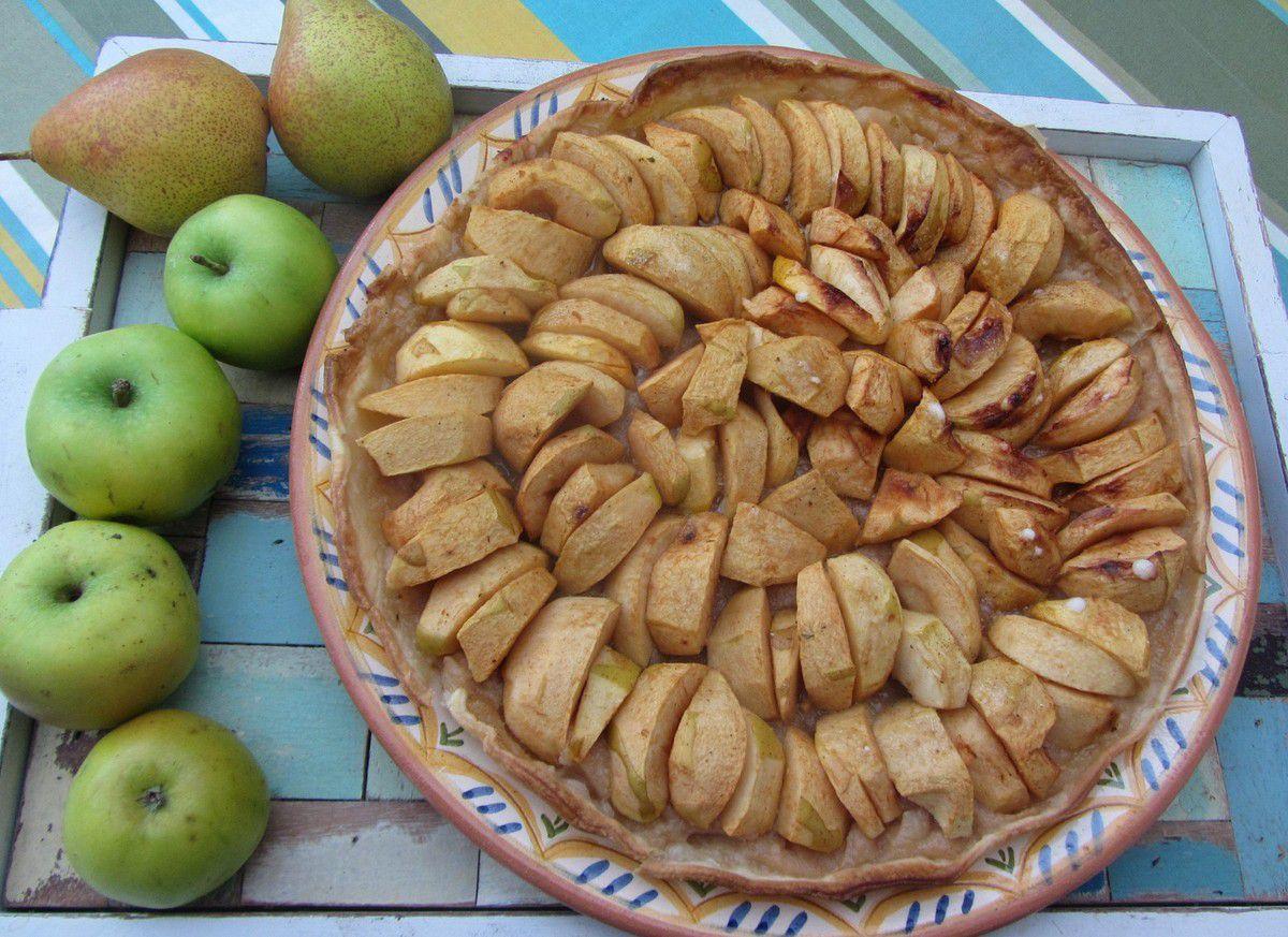 Tarte mixte pommes/poires