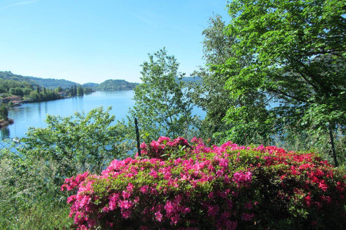 Le lac d'Orta ( Piémont )