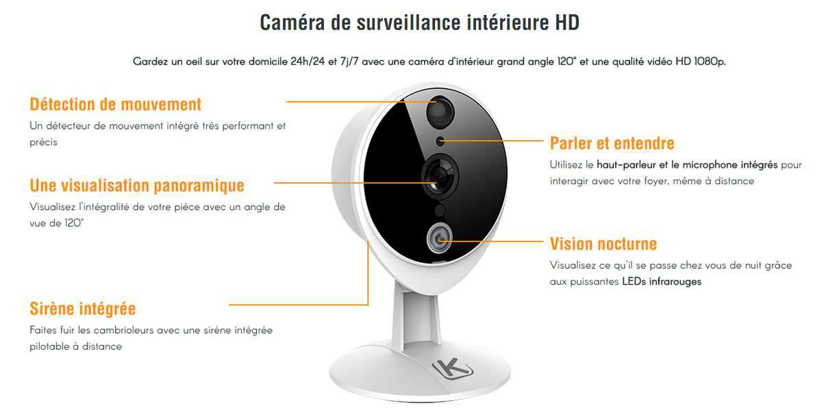 TEST CAMERA SURVEILLANCE VIDEO KIWATCH