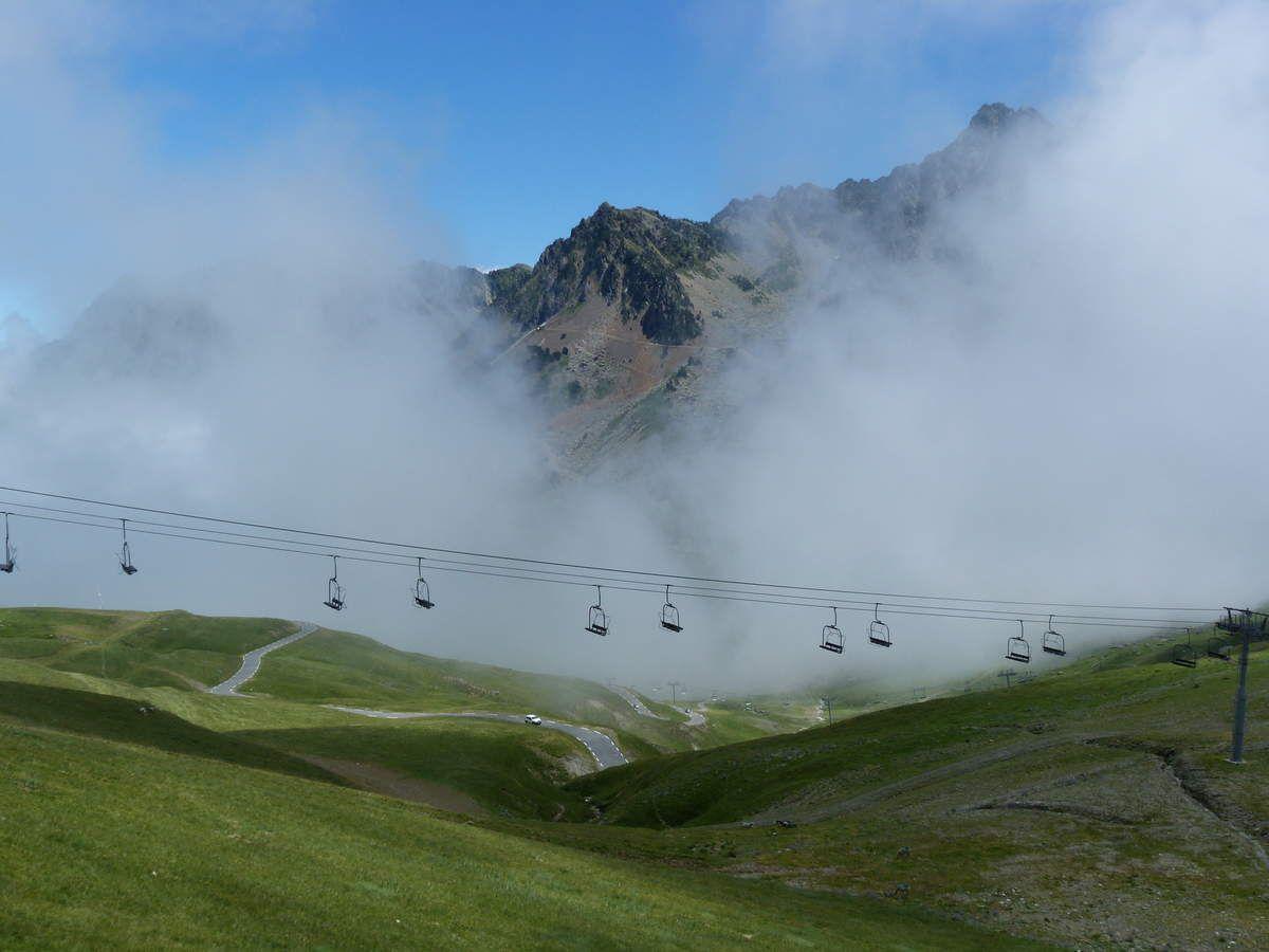 Séjour dans les Pyrénées...  le col du Tourmalet