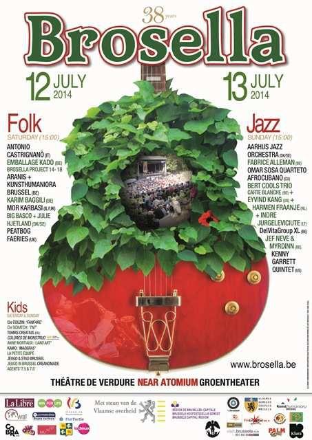 Brosela Folk & Jazz du 12 et 13 juillet 2014