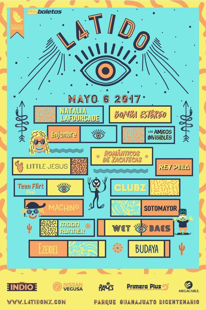 Le Festival Latido 2017 se déroulera le 6 mai - Guanajuato