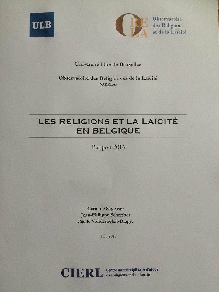 ORELA fait paraître son cinquième rapport sur l'état des religions et de la laïcité en Belgique,