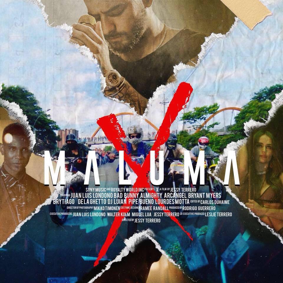 Maluma - X (The Film) - Maluma joue dans un court-métrage avec trois chansons de trap.