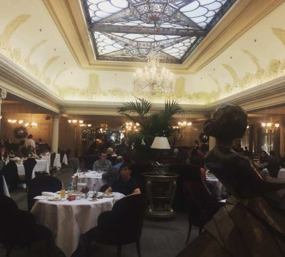 Georgian Restaurant, Harrods