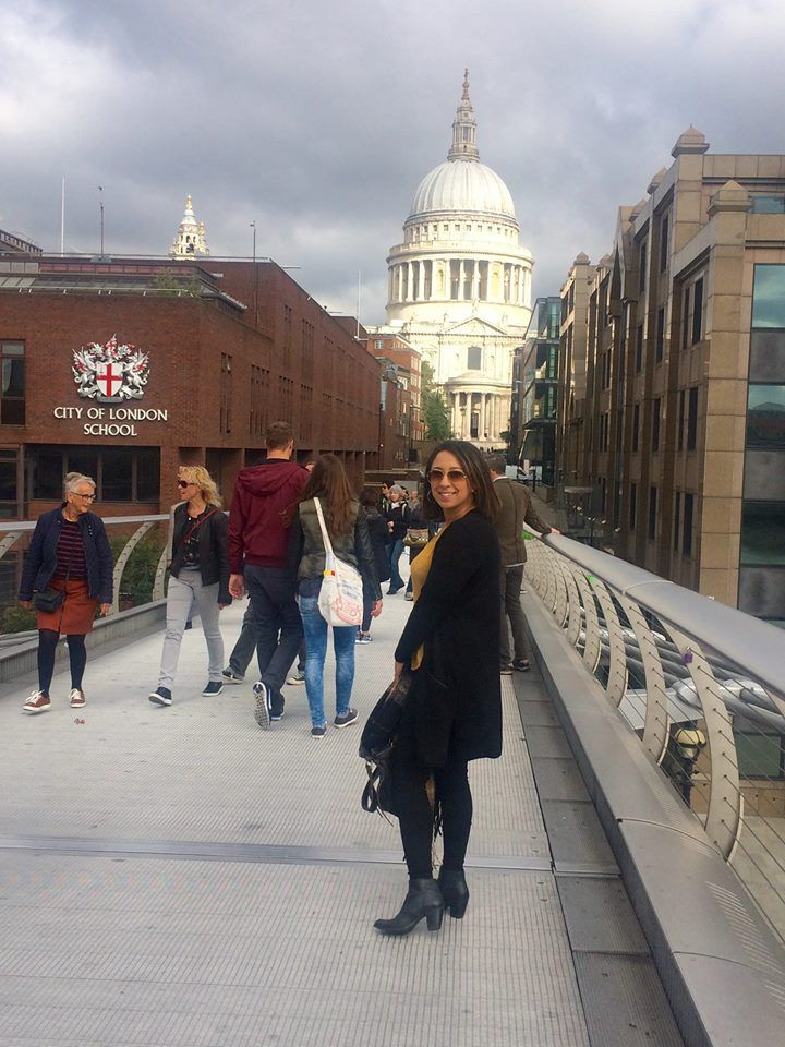 Le Millenium Bridge, St Paul