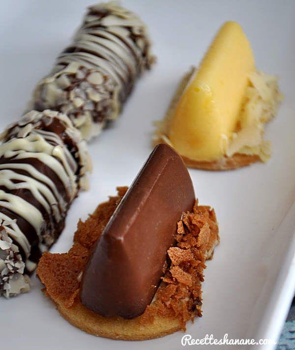 "Mignardises ""Tartelettes au citron"" & ""Tartelettes au chocolat"""