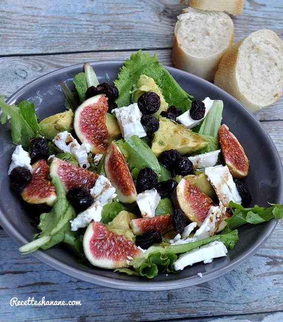 Recettes salées avec des figues (salade et entrée faciles)