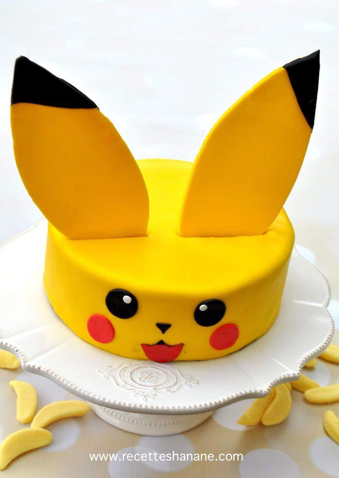 Gâteau Pikachu - Tutoriel