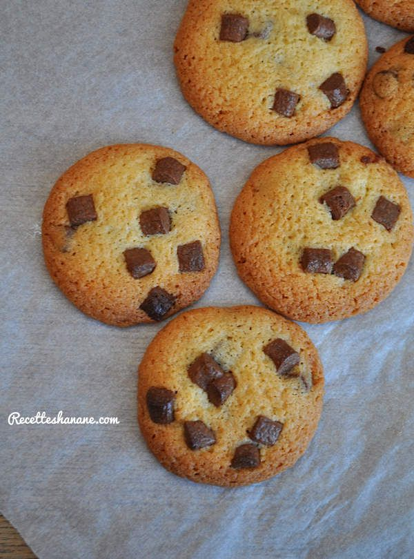 Cookies aux Chunks