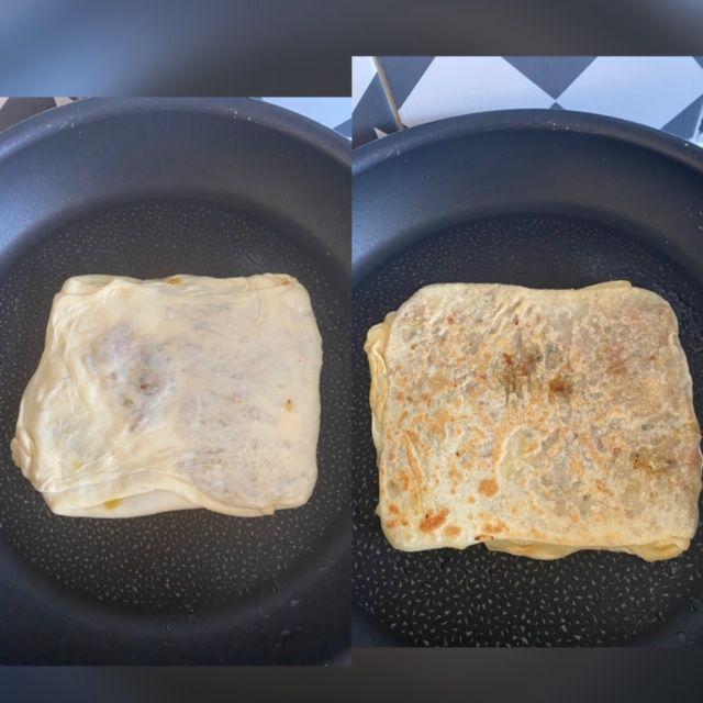 Aplatir au moment de la cuisson