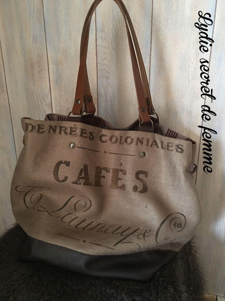 sac cabas café