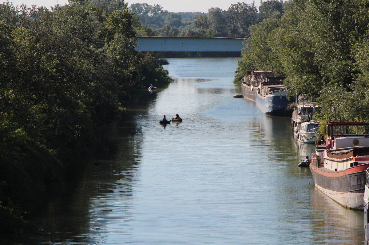 20180708 Float Tube Canal Arles à Fos