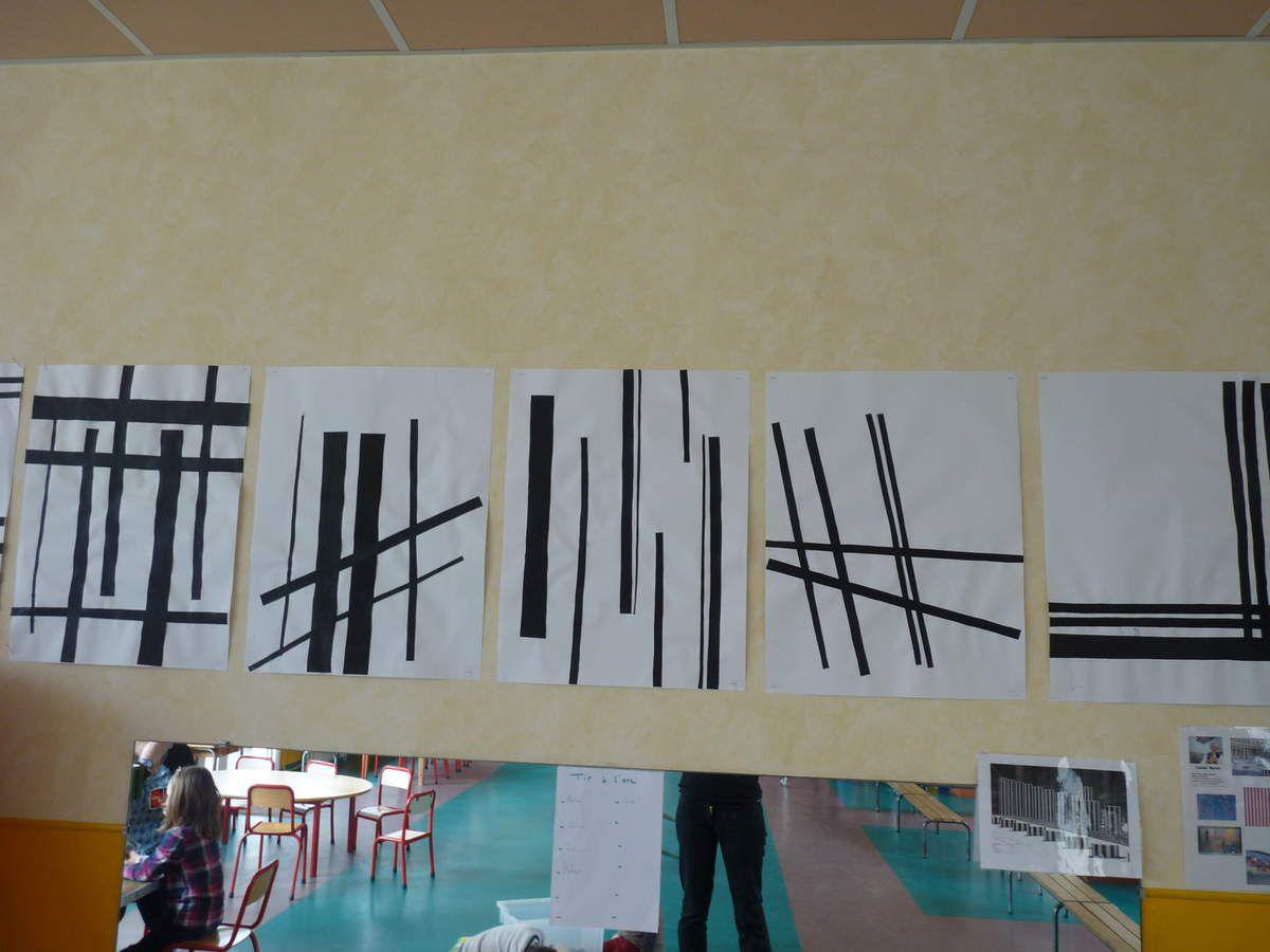 Exposition art et géométrie chez Cécile