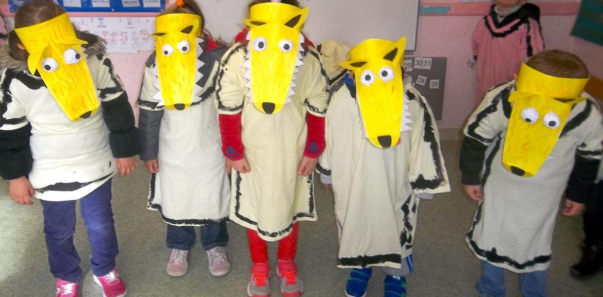 Ouh ouh voici nos petits loups chez Val