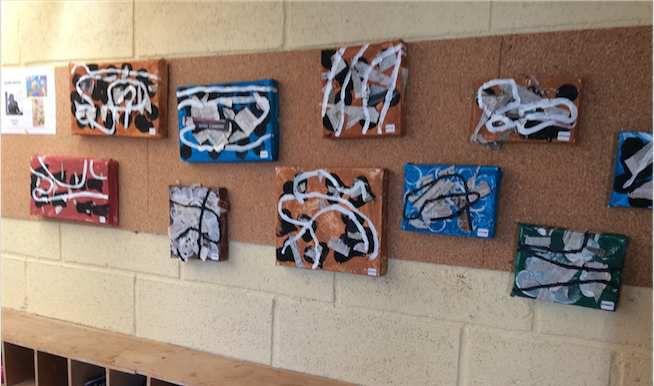 Nos oeuvres d'art chez Fabienne
