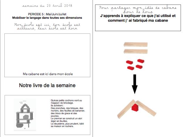 Cabanes Cahier de liaison n°27(2017-2018)